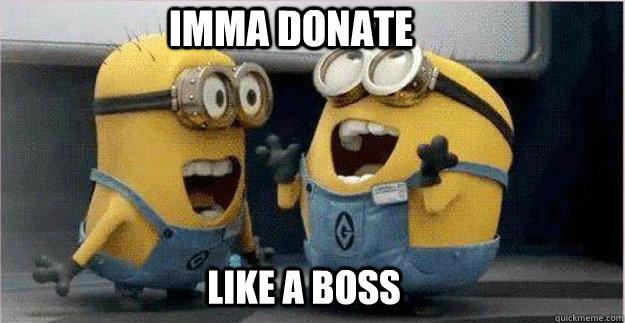 minion donate